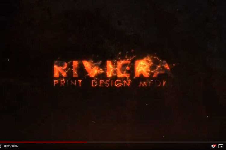 Video Editing - Logo - Riviera Fire - AJR Design (Alex J. Ramsden)