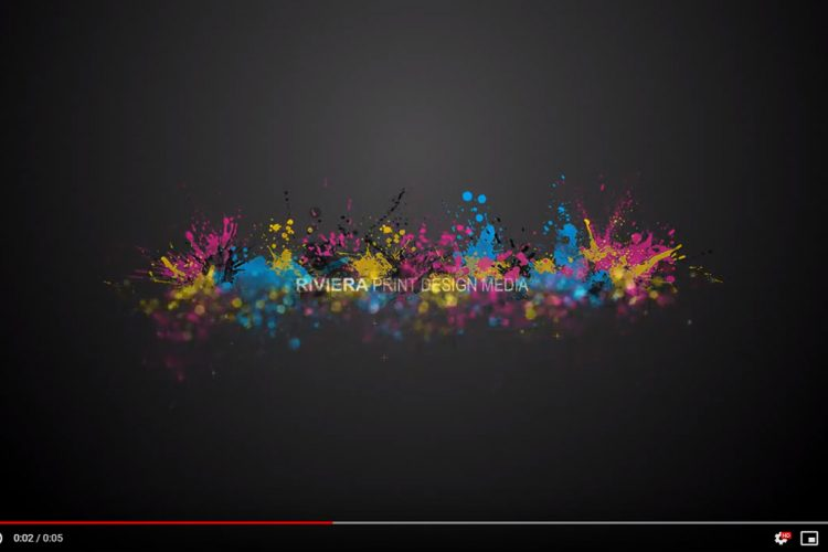 Video Editing - Logo - Riviera Particles 1 - AJR Design (Alex J. Ramsden)