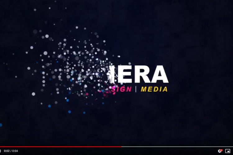 Video Editing - Logo - Riviera Particles 2 - AJR Design (Alex J. Ramsden)